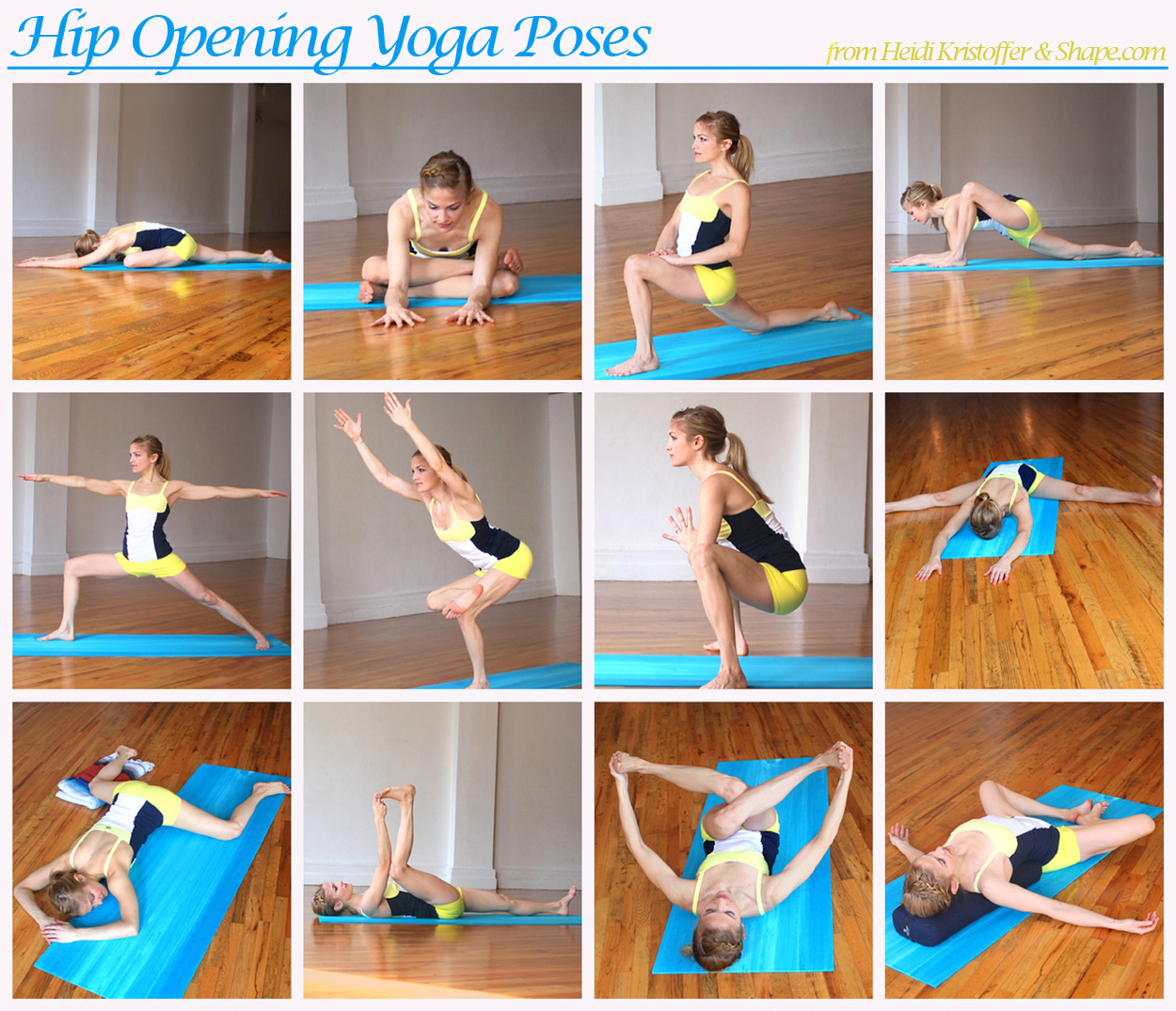 Yoga - Hip Openers on Pinterest | Tight Hips, Hip Opening ...