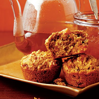 pecan quinoa muffins