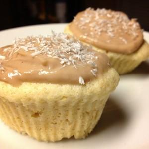 coconut cupcake