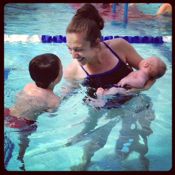 DGJ Stu and Wy Swim