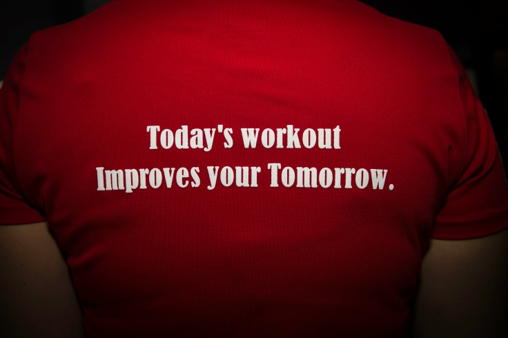 Today's Workout Improves Your Tomorrow.