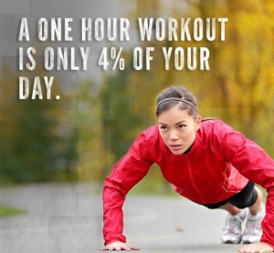quote 1 hour workout