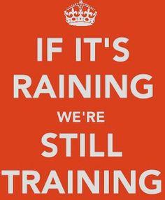 if its raining