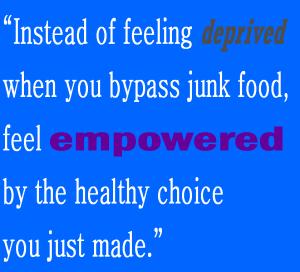 junkfoodhealthychoice
