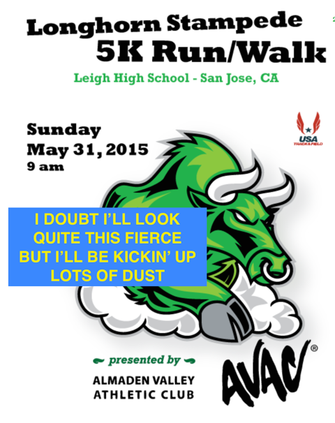 Running (a 5K) with the bulls — well, Longhorns — for a good cause, of course!