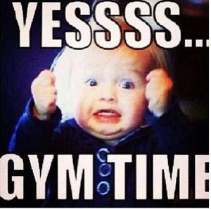 yes gym time used