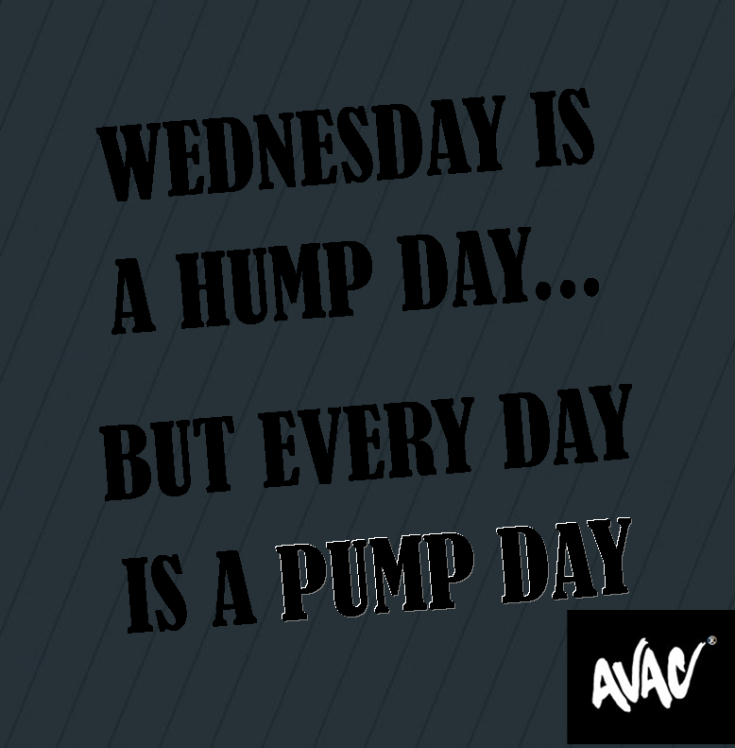 hump day pumpday