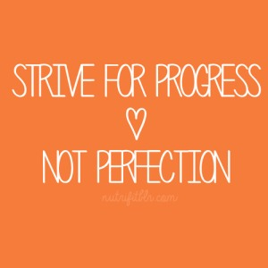 progress not perf