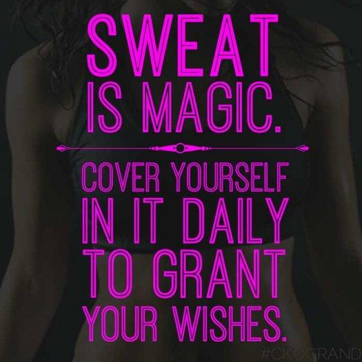 sweat magical