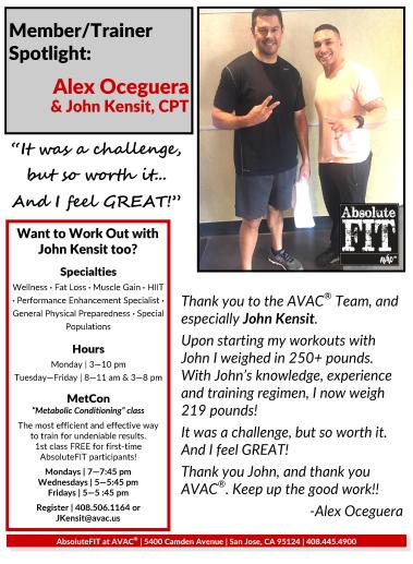 Want Weight Loss Find Out How Alex Lost Over 30 Pounds At Avac