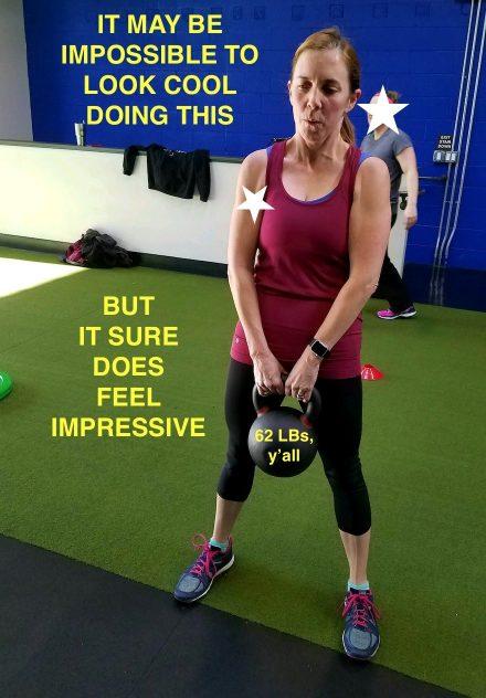 Lydia kettlebell lift